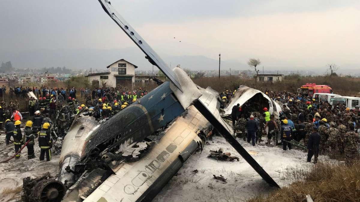 Kathmandu plane crash killed 51 people