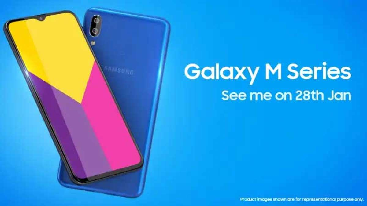 Samsung to launch 'M' series in India with Galaxy M10, Galaxy M20 today