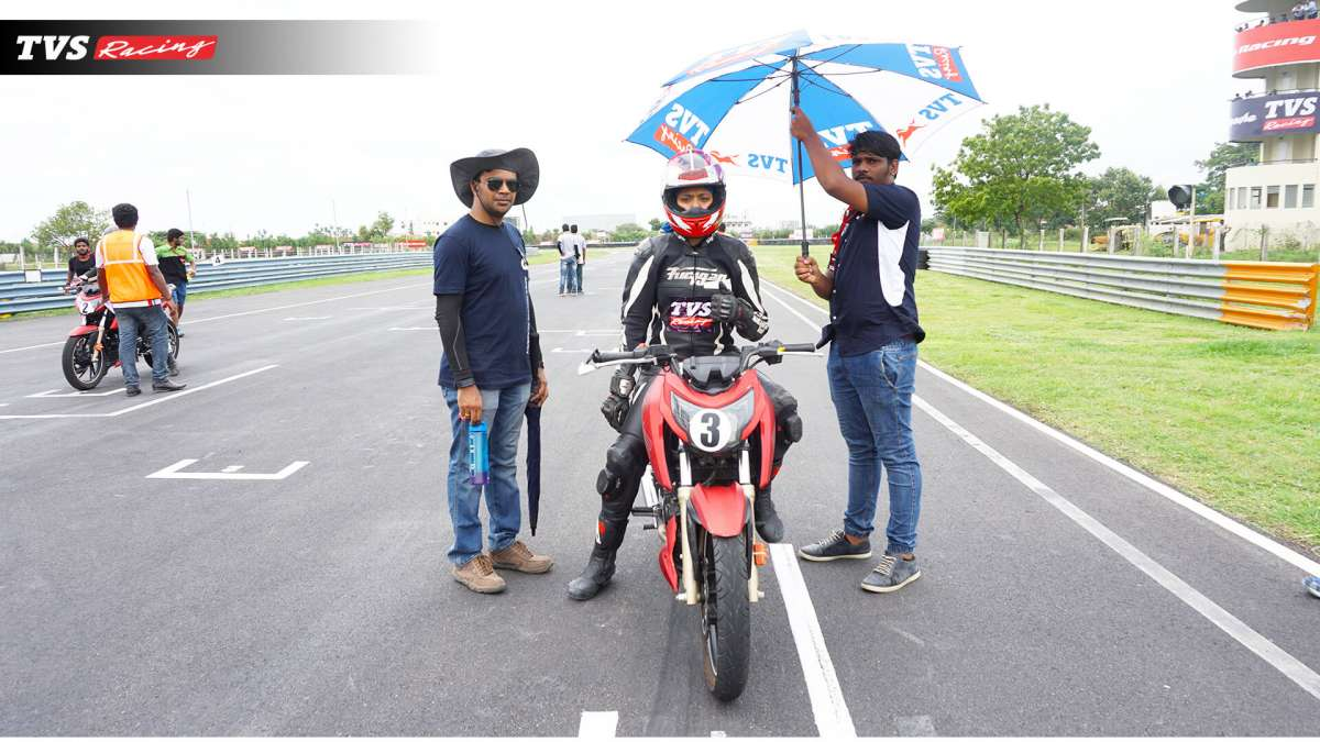 TVS One Make Championship is a golden opportunity for lady riders