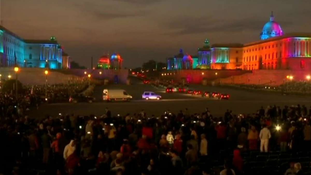 Republic Day 2019: Beating the Retreat enthrals audience at Vijay Chowk with Indian tunes