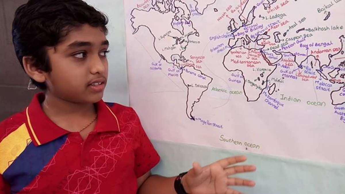 13-year-old boy Amar Sathwik Thogiti creates video for UPSC civil services aspirants