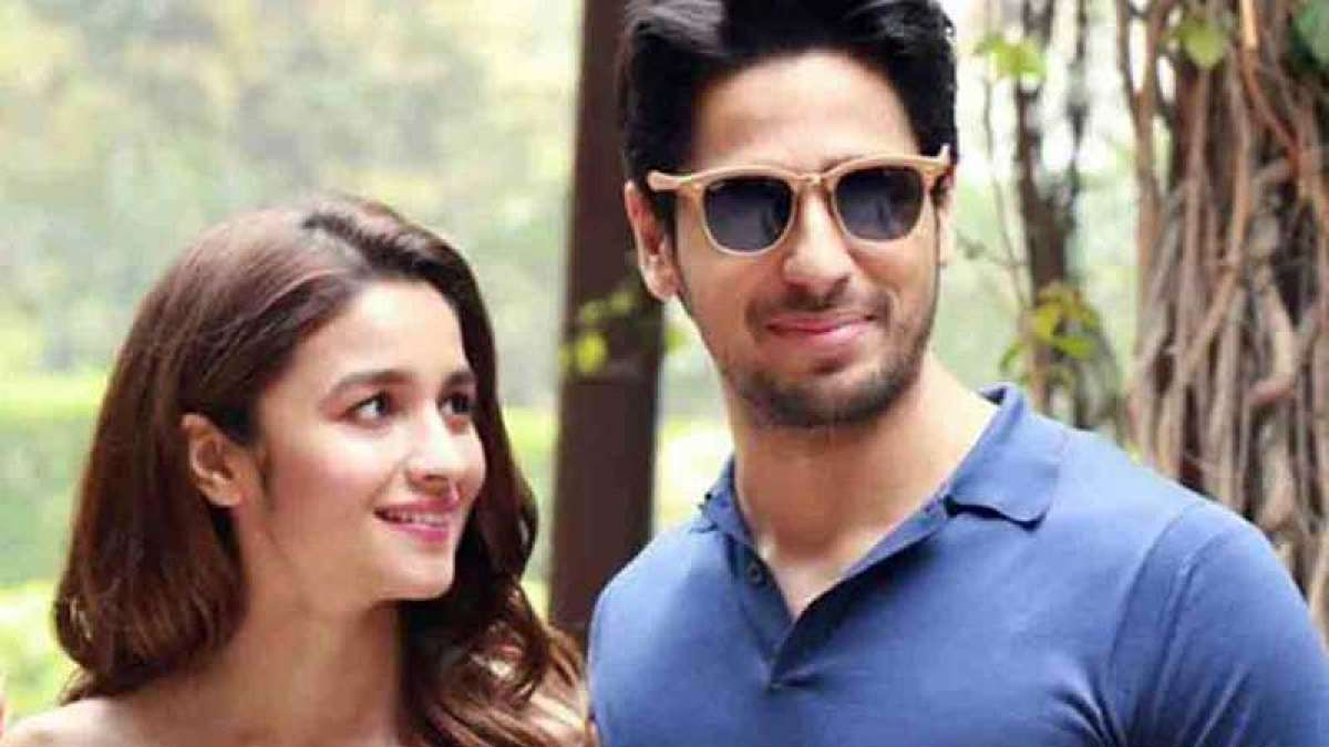 Actors Alia Bhatt and Sidharth Malhotra