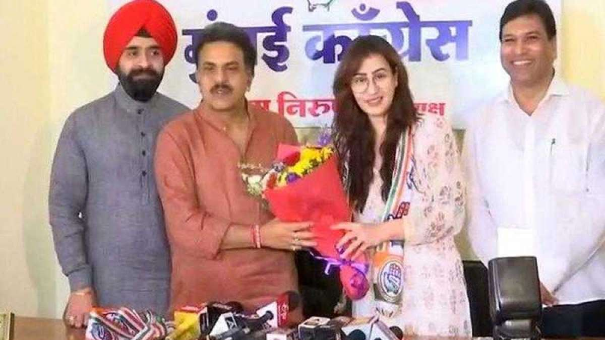 Shilpa Shinde joins Congress, wants Rahul Gandhi as future PM of India