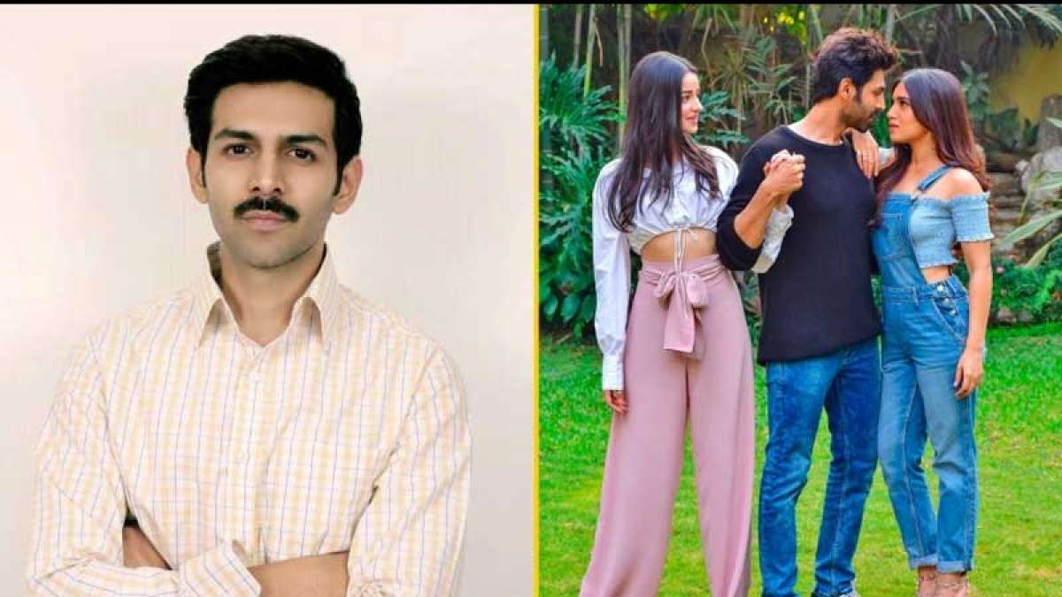 Kartik Aaryan's first look from Pati Patni Aur Woh remake