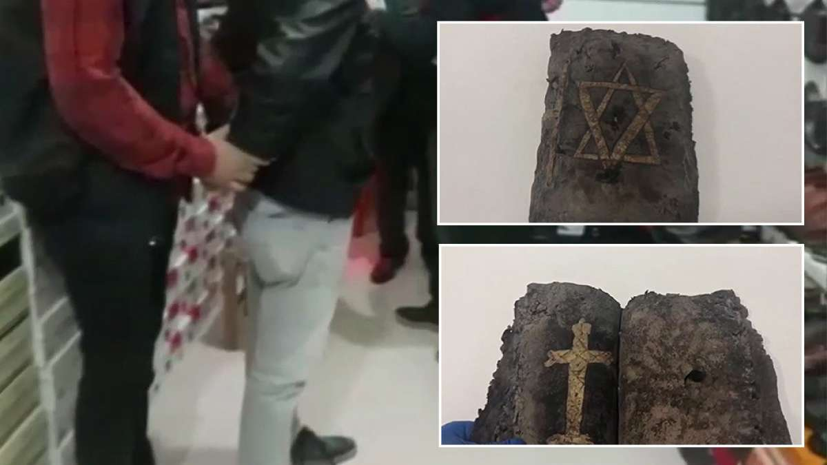 1200 years old Bible seized in Turkey, smugglers arrested