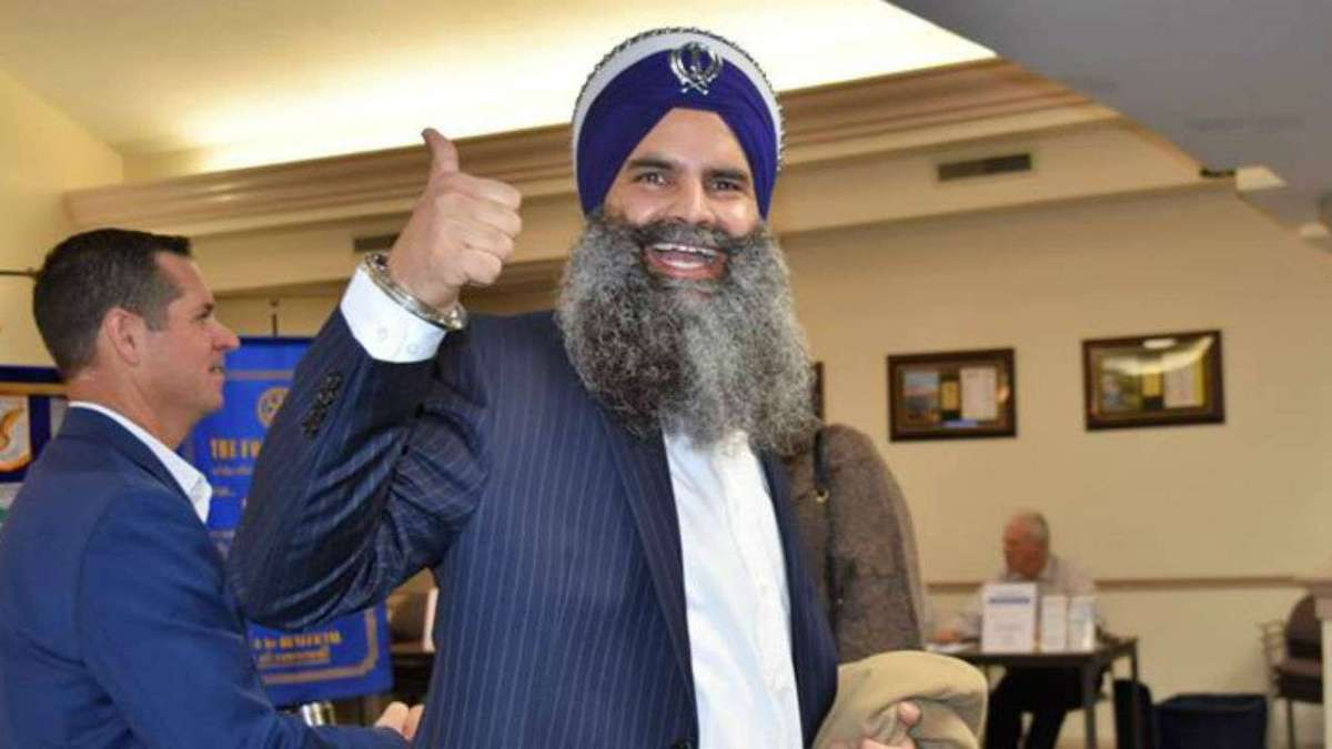 Indian American Gurinder Singh Khalsa announces entry into US Politics