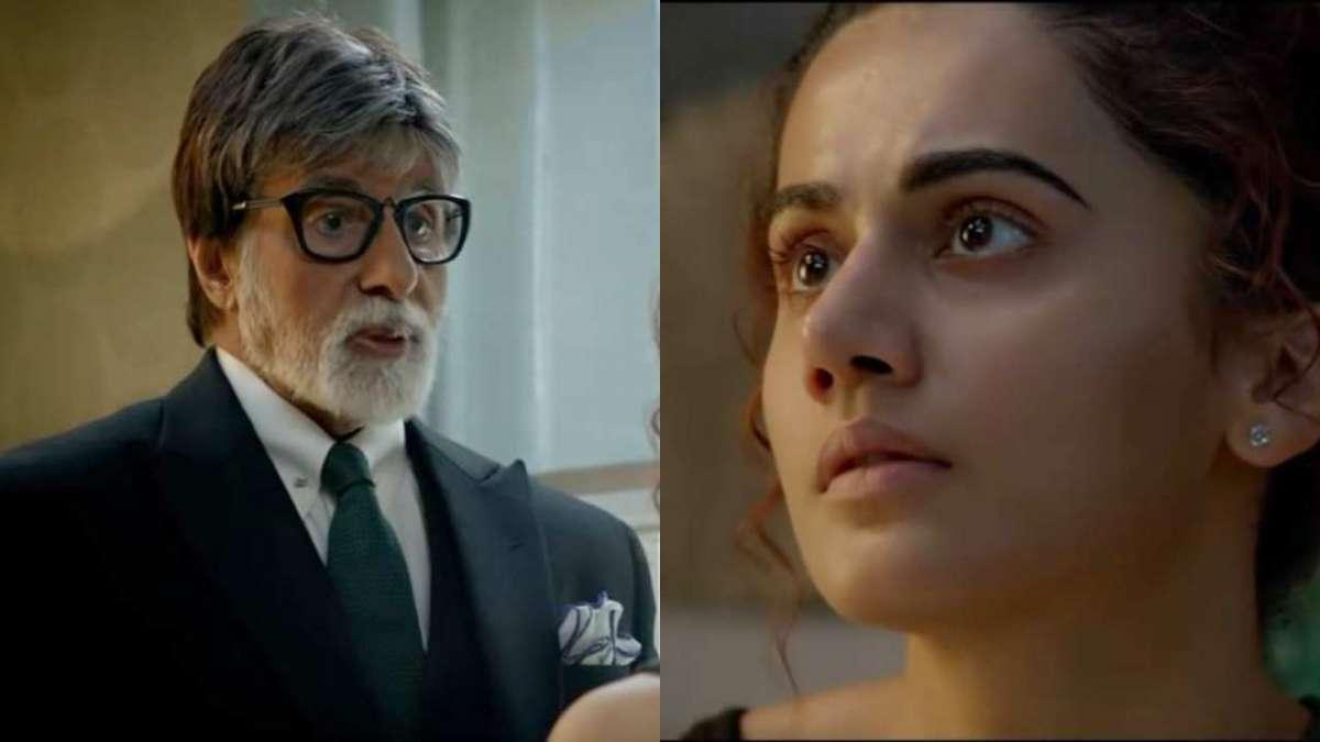 Badla trailer: Amitabh Bachchan, Taapsee Pannu back in intense mode