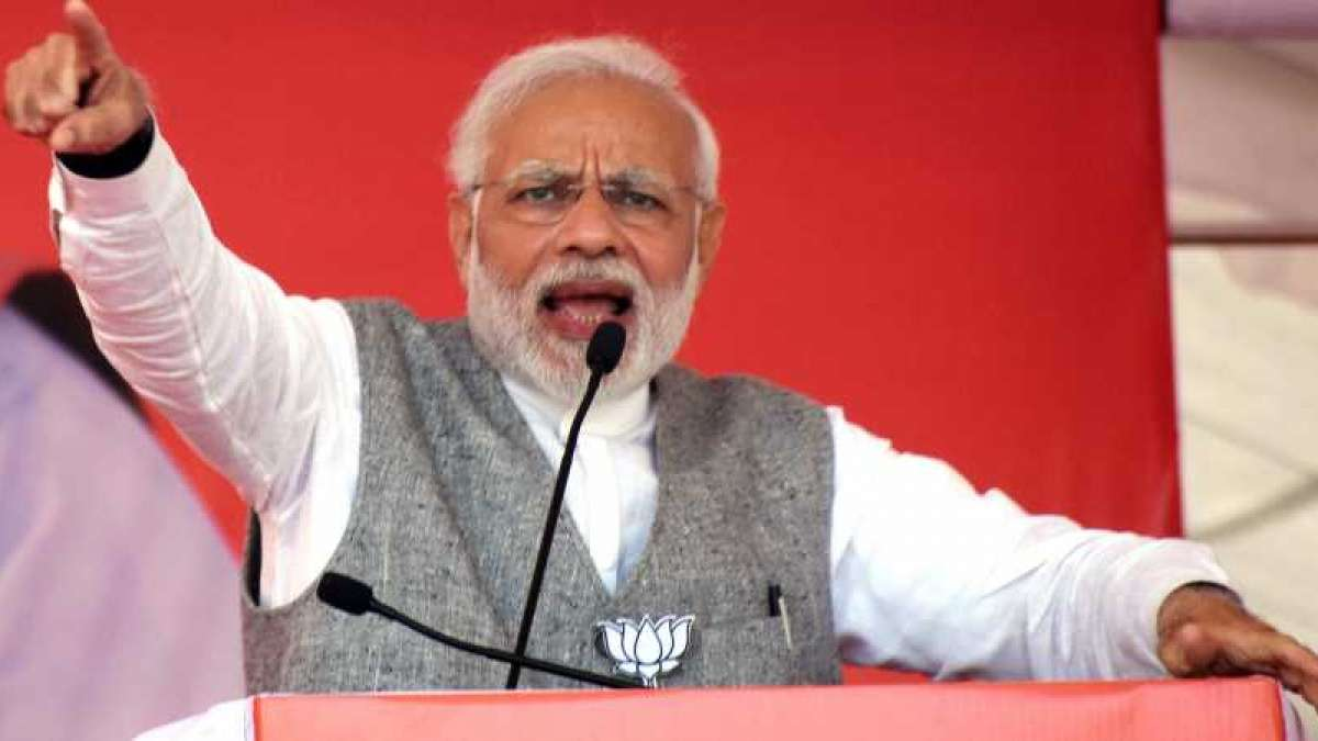 PM Narendra Modi takes a dig at Rahul Gandhi in Lok Sabha speech