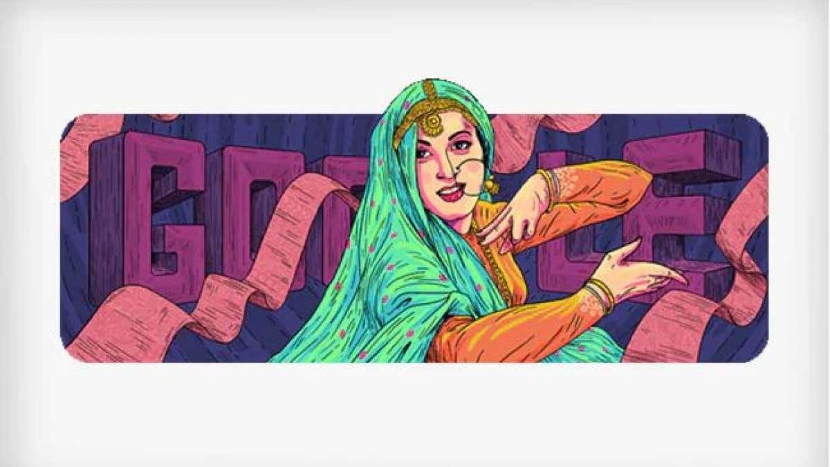 Google Doodle celebrates actress Madhubala's 86th birthday