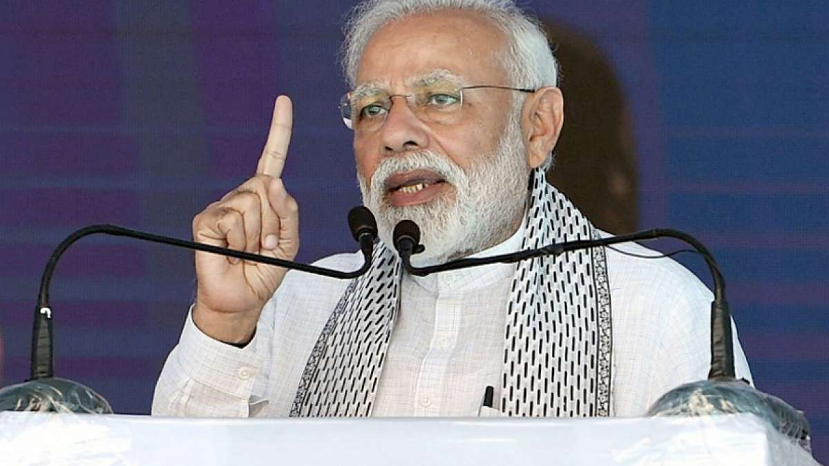 Every tear shed in Pulwama attack aftermath will be avenged: PM Narendra Modi
