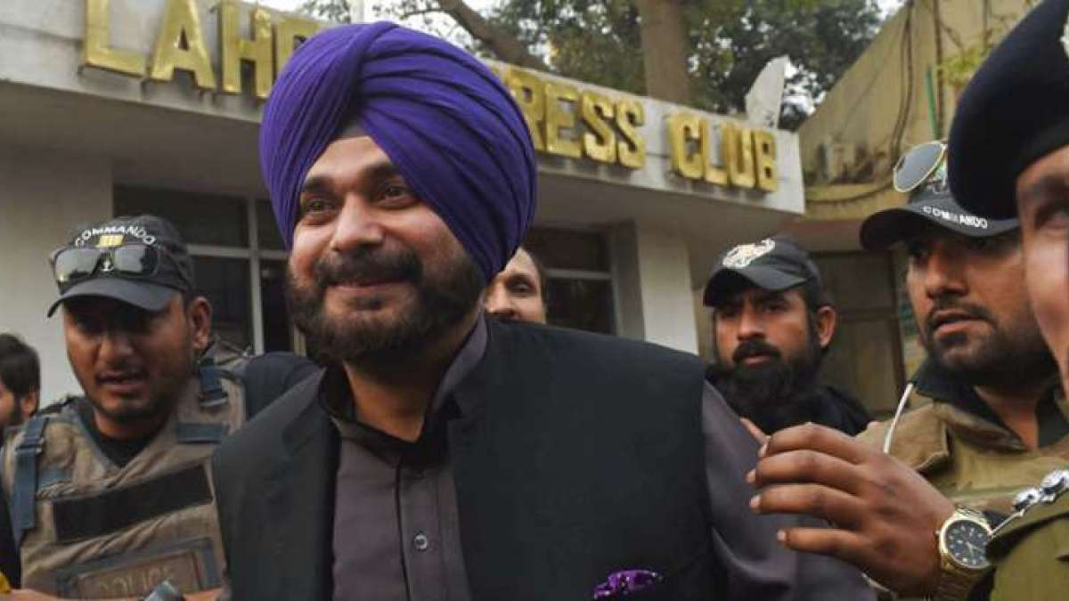 Navjot Singh Sidhu hits back at BJP over Pulwama comment row