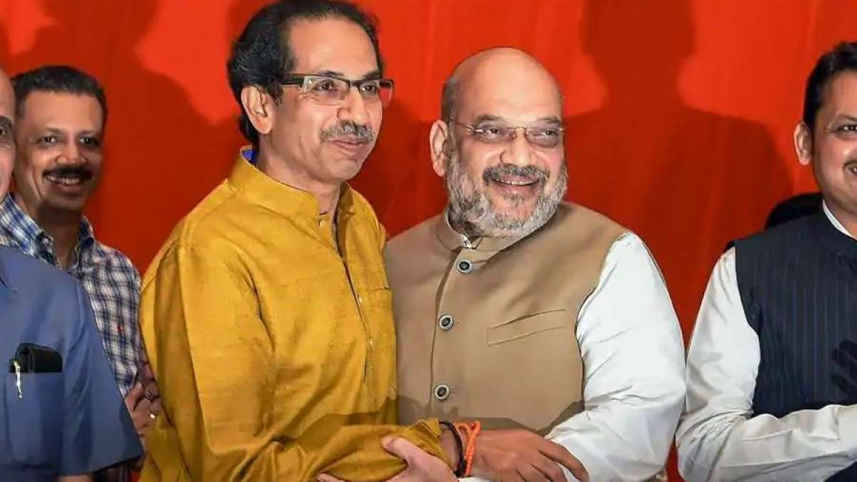 Shiv Sena, BJP to contest together; Uddhav bargains more seats than 2014
