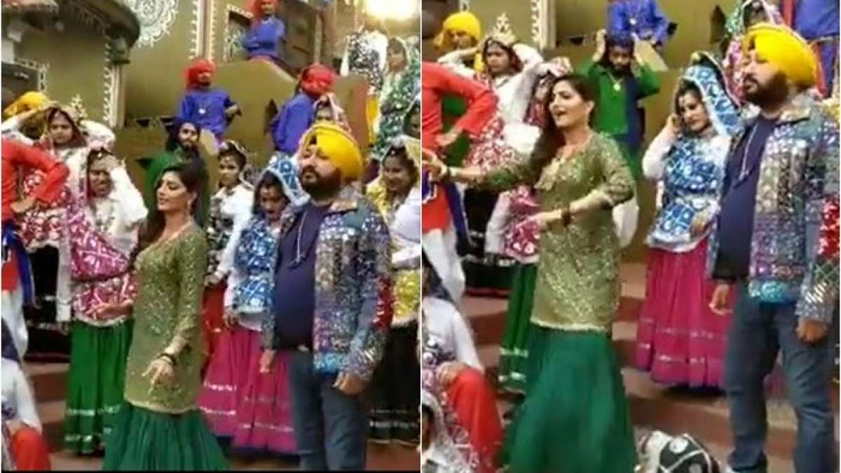 Bawli Parade: Daler Mehndi, Sapna Choudhary shoot for new Haryanvi song