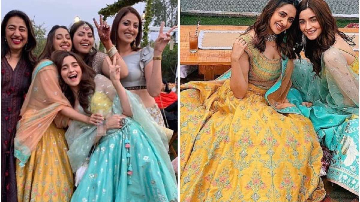 In Pics: Alia Bhatt is the happiest bridesmaid at a wedding