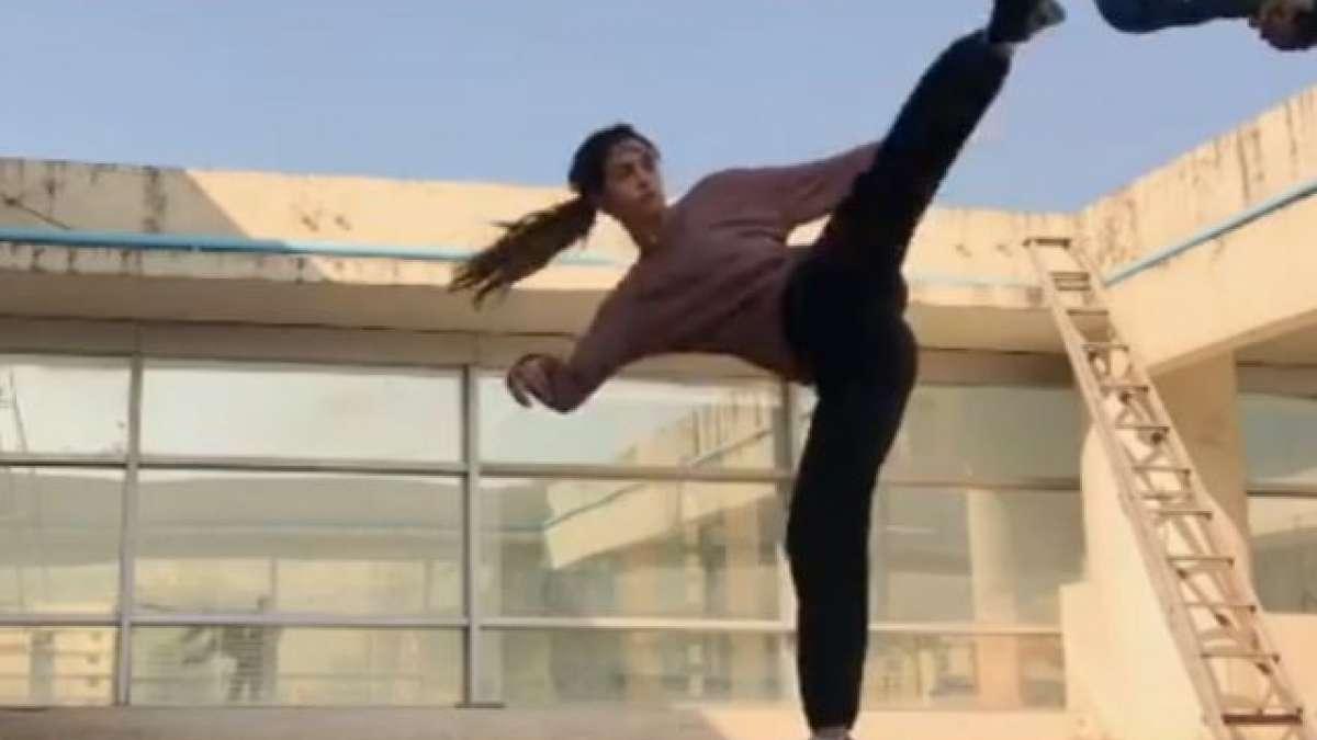 Disha Patani's 'slap spin tornado' sets new fitness goals