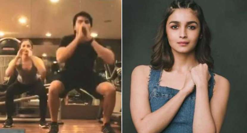Video: Alia Bhatt nails 300 air squats in 7 minutes