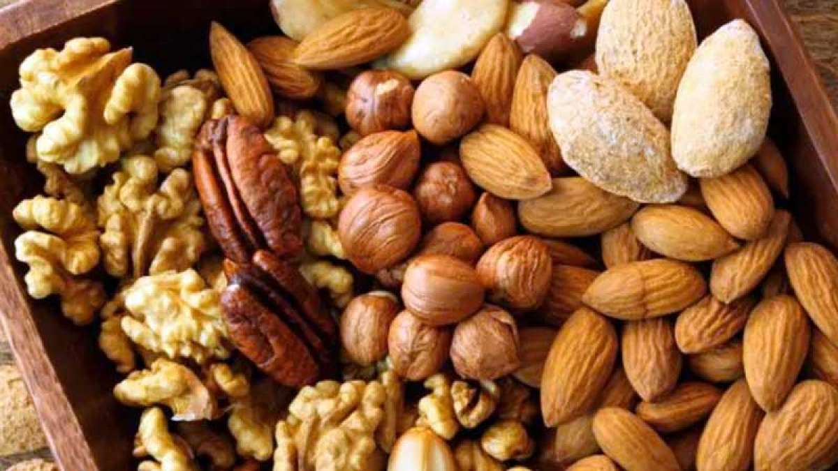Five nuts which are good for health