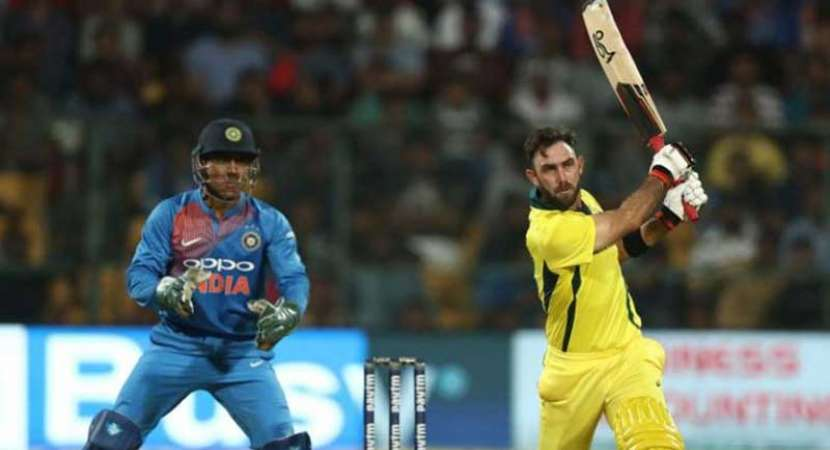 India vs Australia 2nd T20I: Maxwell's ton powers Australia to historic series win against India