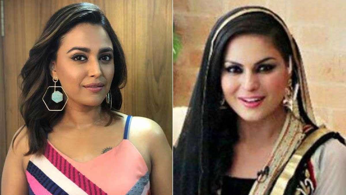 Veena Malik mocks IAF pilot Abhinandan, Swara says 'Shame on you'