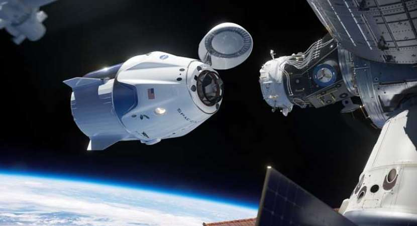 SpaceX Crew Dragon Capsule successfully docks with International Space Station