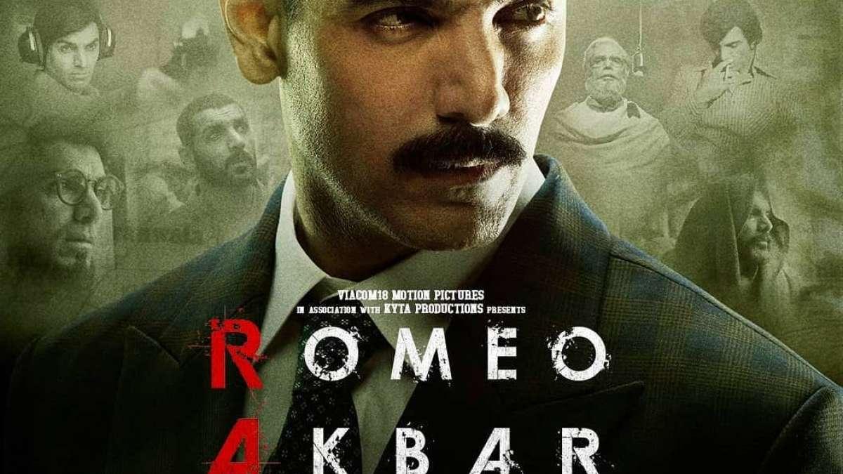 Poster of patriotic movie Romeo Akbar Walter
