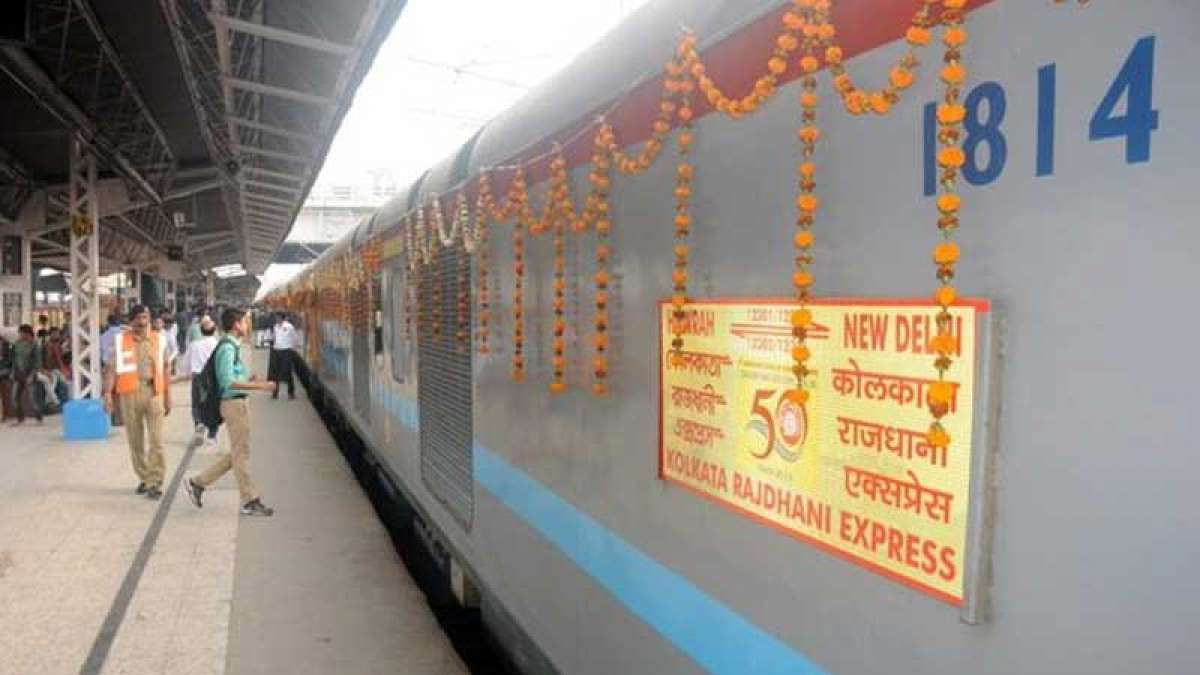 On Rajdhani Express' 50th anniversary, passengers pampered with delicacies