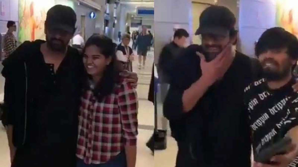 Prabhas gets slapped by a fan after selfie in Los Angeles