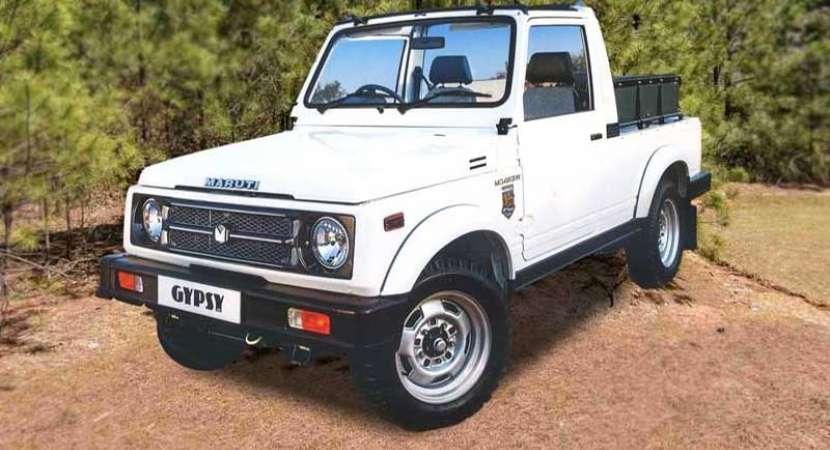 Maruti Suzuki Gypsy - two door offroader - discontinued in India