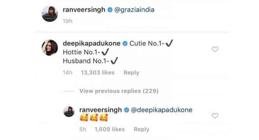 Deepika Padukone ranks Ranveer Singh No.1 in these 3 categories