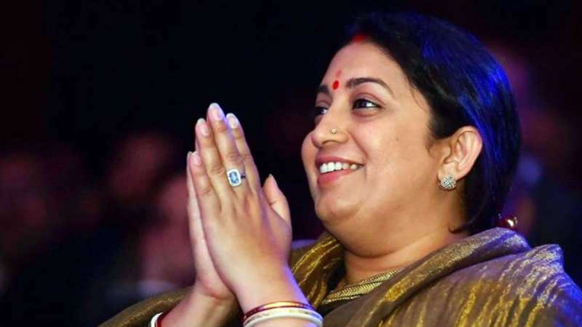 I am not supposed to tell you this: Smriti Irani shares a meme on Abhinandan and Pakistan
