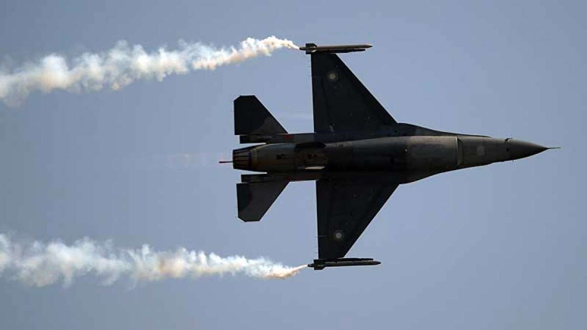 Two AMRAAM missiles fired by Pakistan's F16 fighter jet: Report