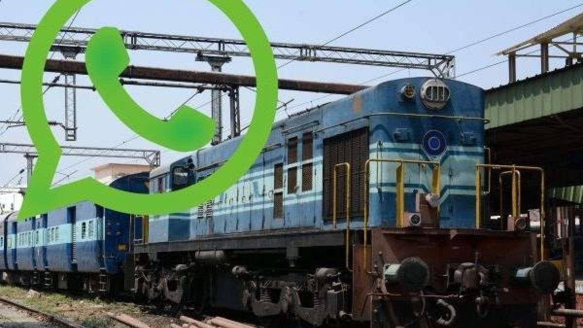 How to check live train status on WhatsApp in your mobile phone