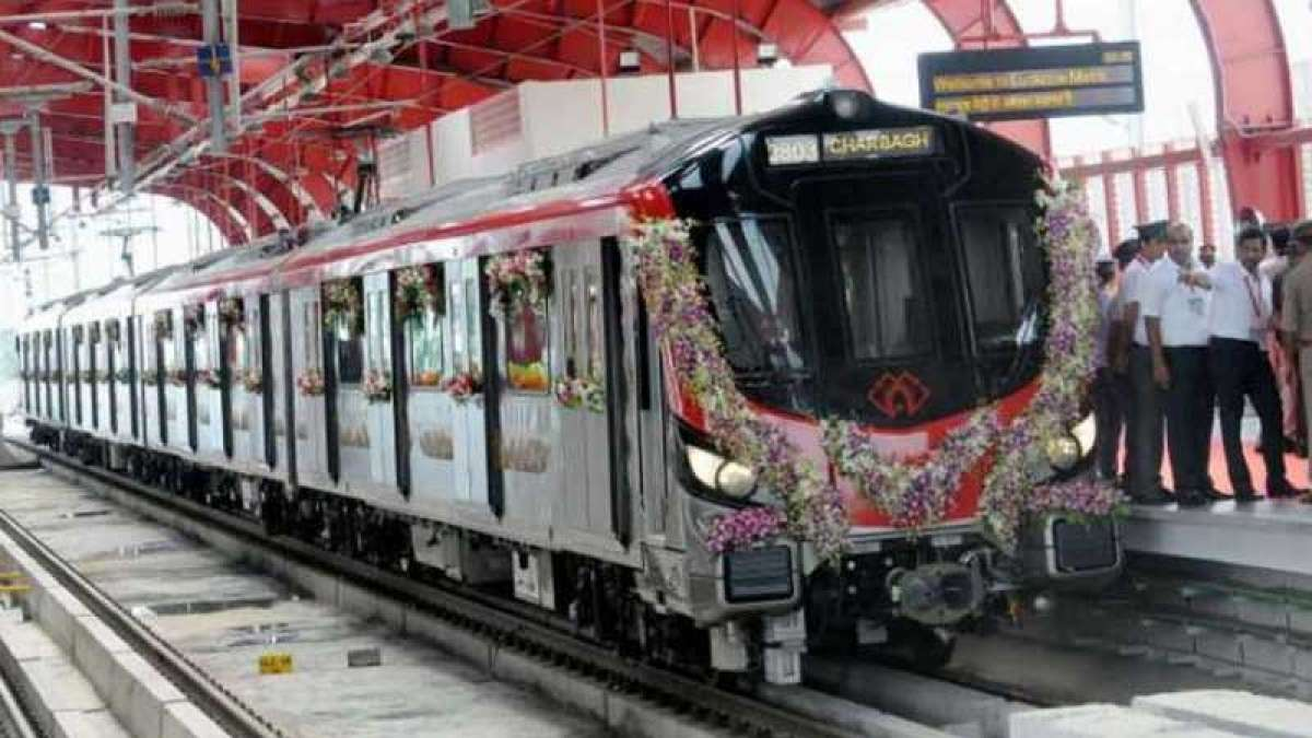 PM Narendra Modi flags off Lucknow Metro's North-South corridor