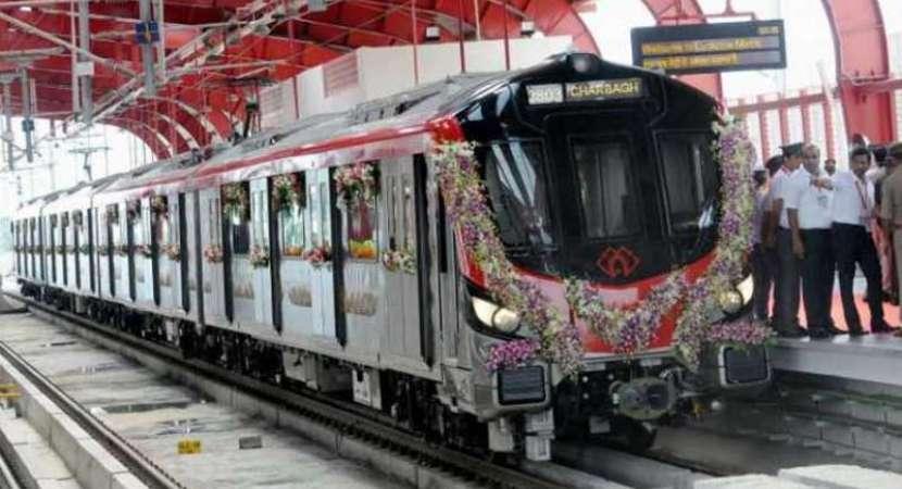 PM Narendra Modi flags off Lucknow Metro's North-South corridor