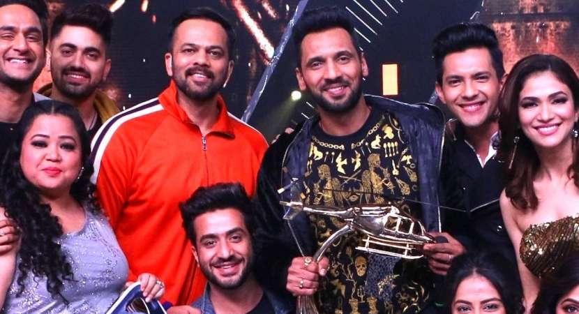 Punit J Pathak wins the trophy of Khatron Ke Khiladi season 9