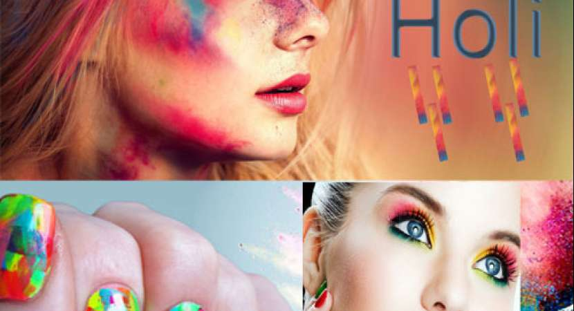 Holi Festival 2019: Makeup Tips and hair style for Holi party-goers