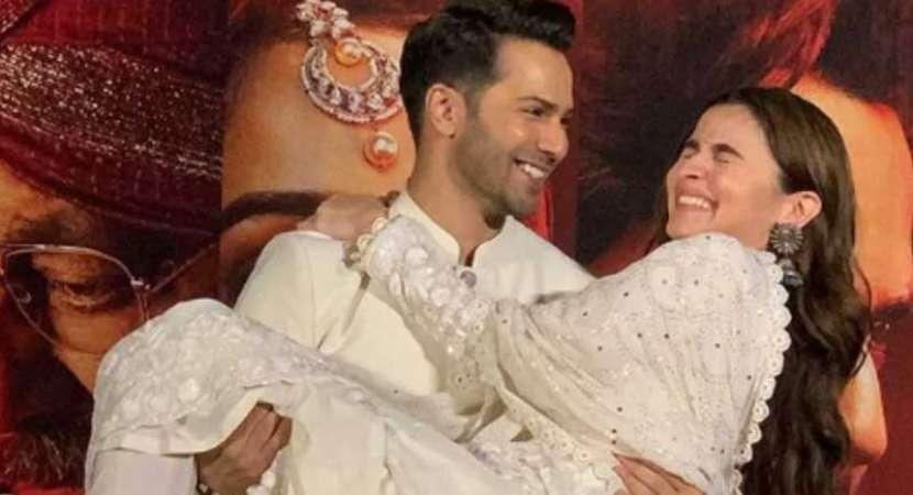 Alia Bhatt shows a lot of attitude on sets: Varun Dhawan at Kalank teaser launch