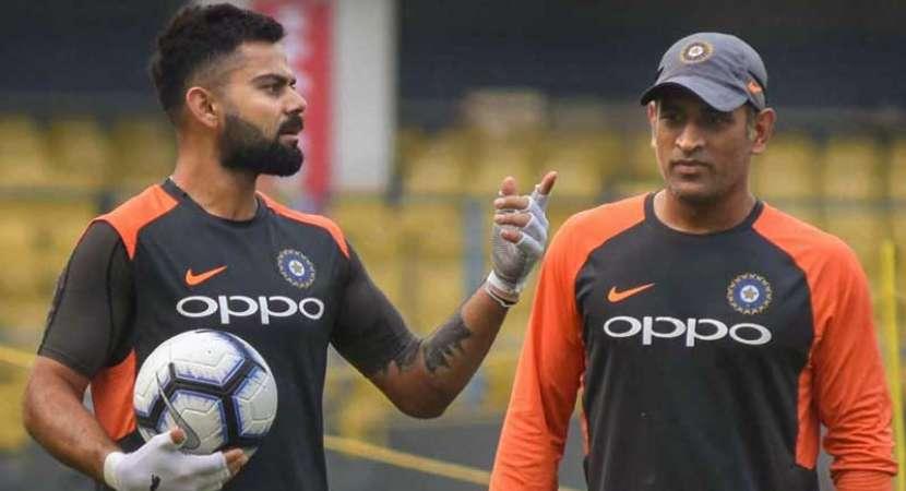 MS Dhoni issues warning to Virat Kohli in new IPL teaser
