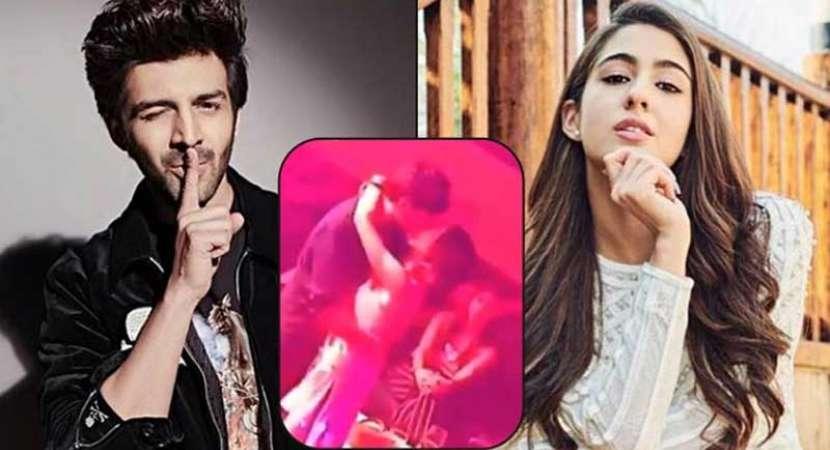"""Kartik Aaryan, Sara Ali Khan leaked kissing video: """"Are they really us?"""""""
