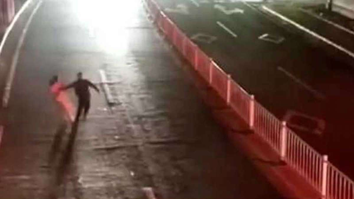Video: In China, drunk man's love test on wife fail