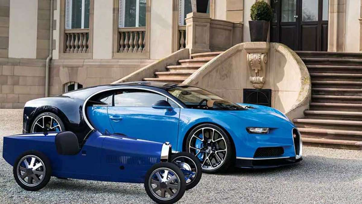 Most affordable Bugatti launched at a price tag of Rs 25 lakh