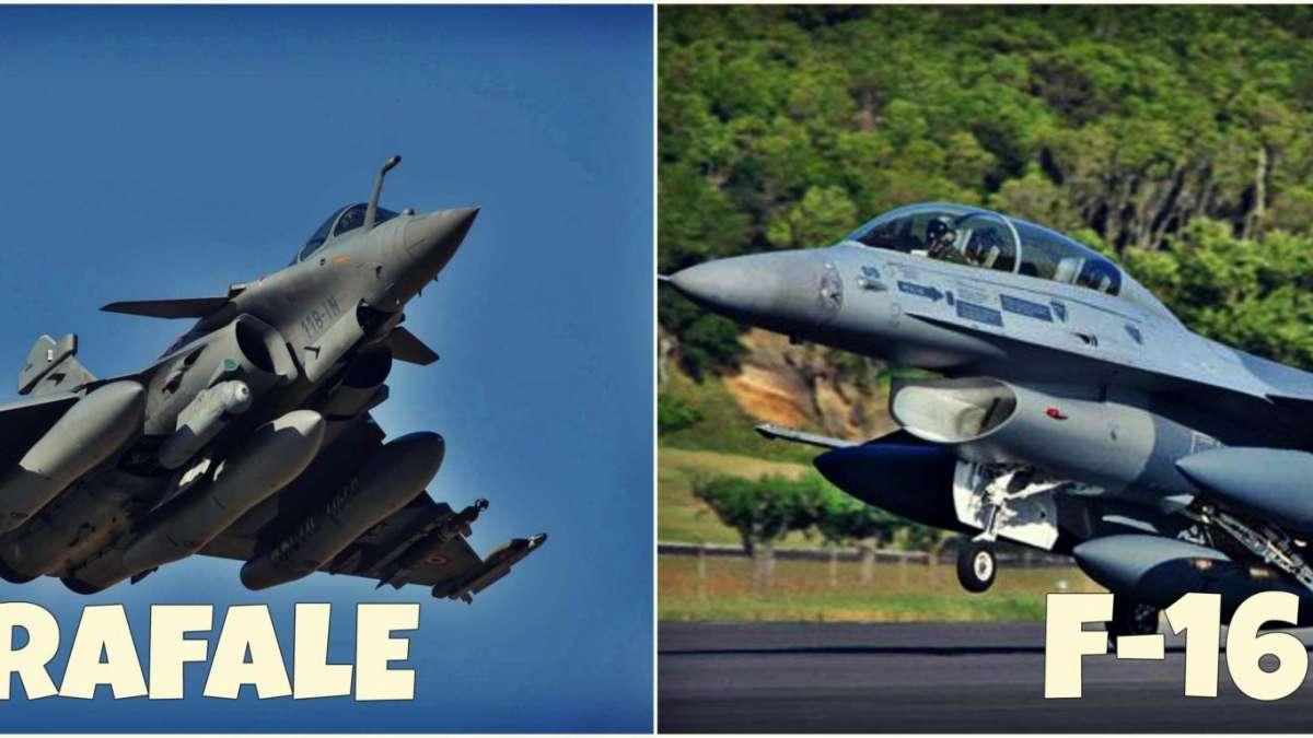 Indian Rafale Jet Vs Pakistani Jet F-16 Comparison
