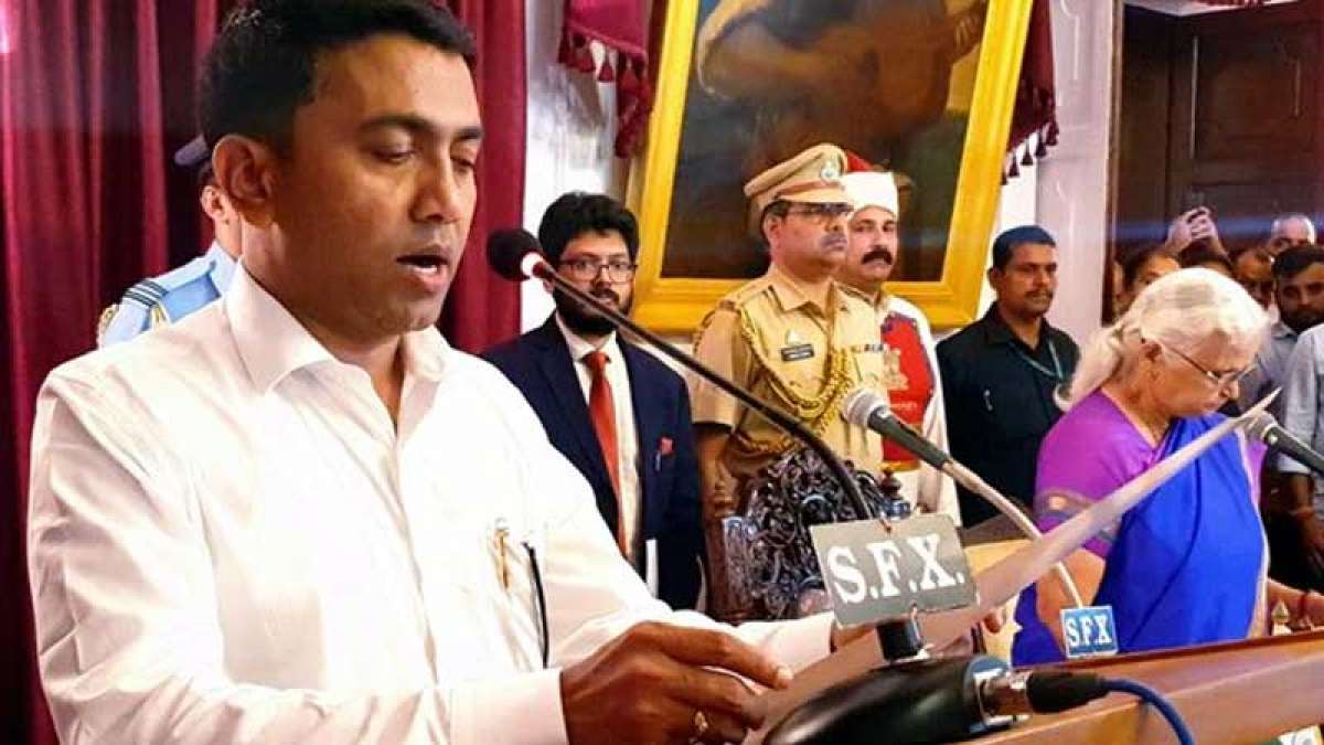 BJP's Pramod Sawant is the new Goa CM, takes oath at 2 AM
