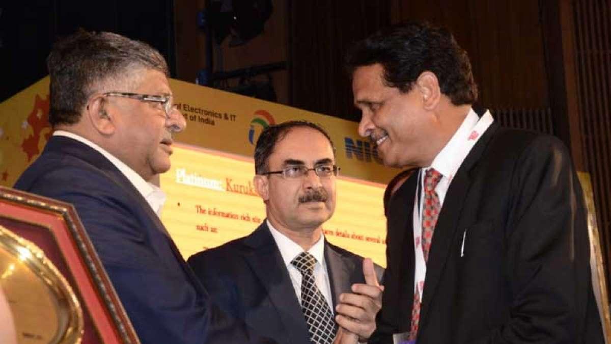 Kurukshetra website bags Rashtriya Web Ratna Award