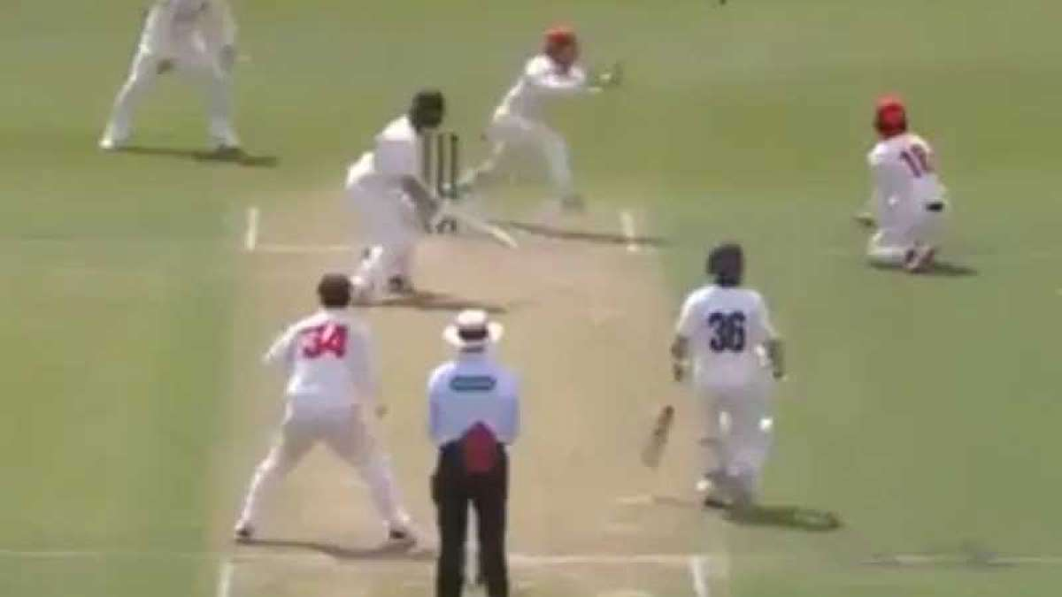 Watch: Probably the unluckiest dismissal in cricket history