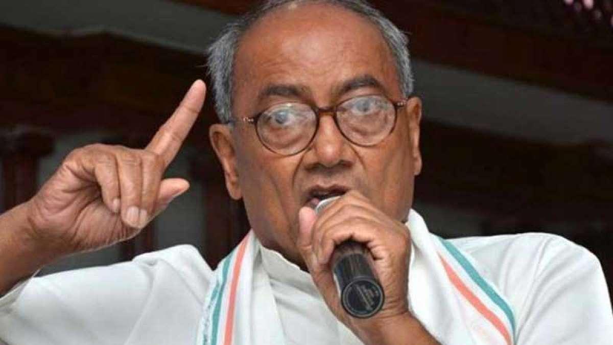 Digvijay Singh to contest Lok Sabha Polls from Bhopal