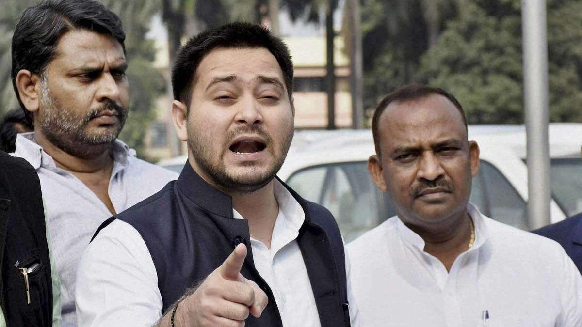 Tejashwi Yadav rubbishes 'Mahagathbandhan' breakup, announces Bihar seats
