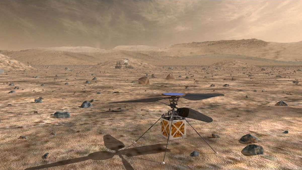Mars helicopter ready to take off for Red Planet: NASA