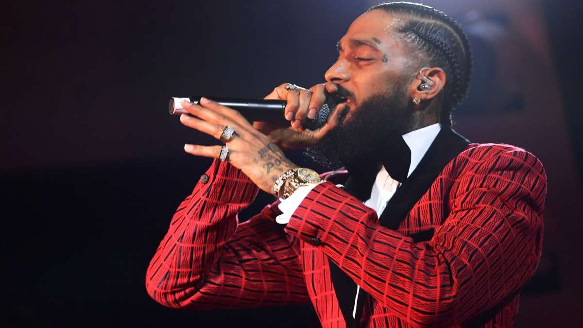 Rapper Nipsey Hussle was killed outside his Marathon clothing store in Los Angeles