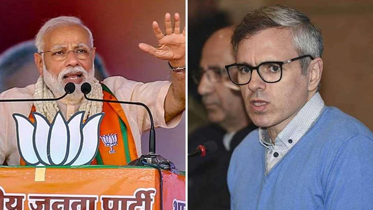 PM Narendra Modi blasts Congress over Omar's remark on J&K